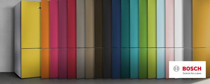 Bosch Vario Style - farbige Fronten für Ihren Kühlschrank - Miele ...