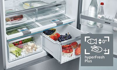 Siemens Kühlschrank Hyperfresh : Kühlgeräte mit hyperfresh der siemens extraklasse miele
