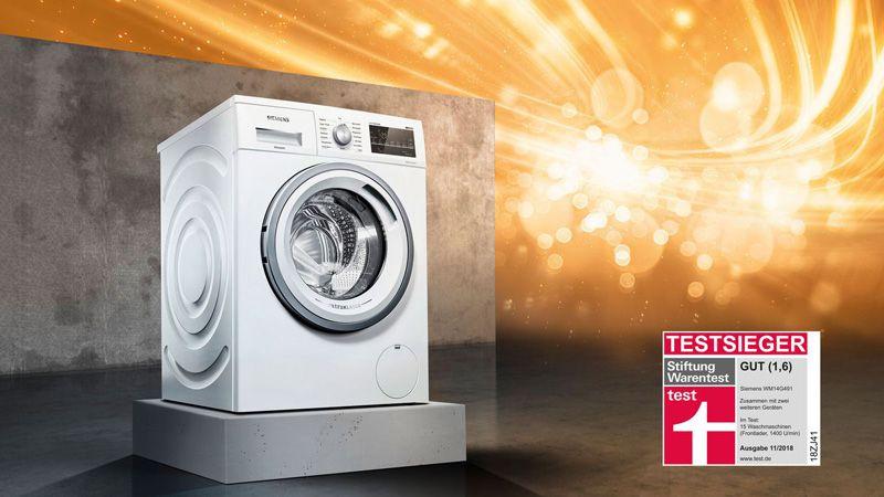 Siemens Kühlschrank Testsieger : Siemens testsieger der extraklasse miele waschmaschine