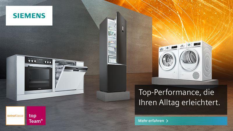Siemens Kühlschrank In Betrieb Nehmen : Siemens extraklasse ein topteam miele waschmaschine
